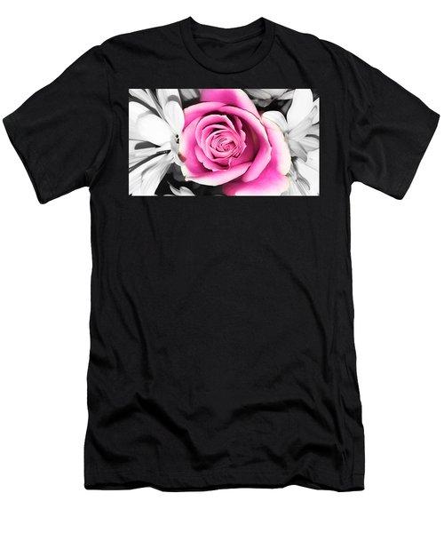 Hypnotic Pink 2 Men's T-Shirt (Athletic Fit)