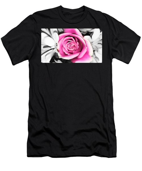 Hypnotic Pink 2 Men's T-Shirt (Athletic Fit)