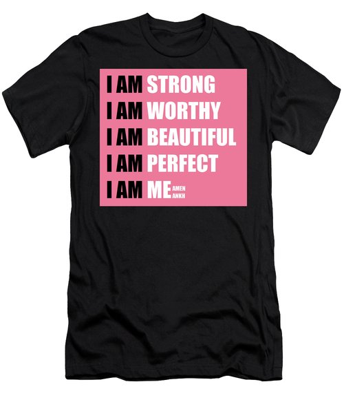 I Am Men's T-Shirt (Athletic Fit)