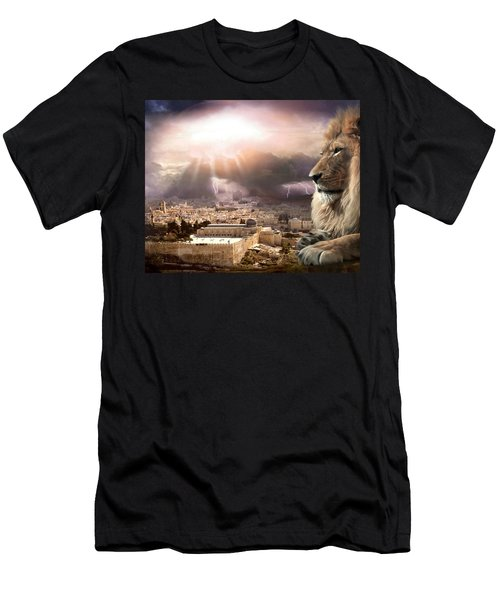 I Am Men's T-Shirt (Slim Fit) by Bill Stephens