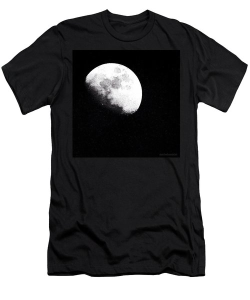 I Am Crazy About This January #moon Men's T-Shirt (Athletic Fit)
