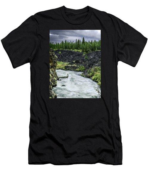 I Am River Hear Me Roar Men's T-Shirt (Athletic Fit)