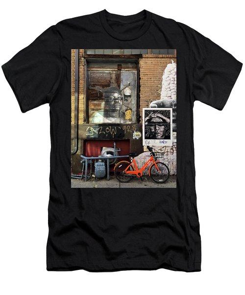 I Am The Change Men's T-Shirt (Athletic Fit)