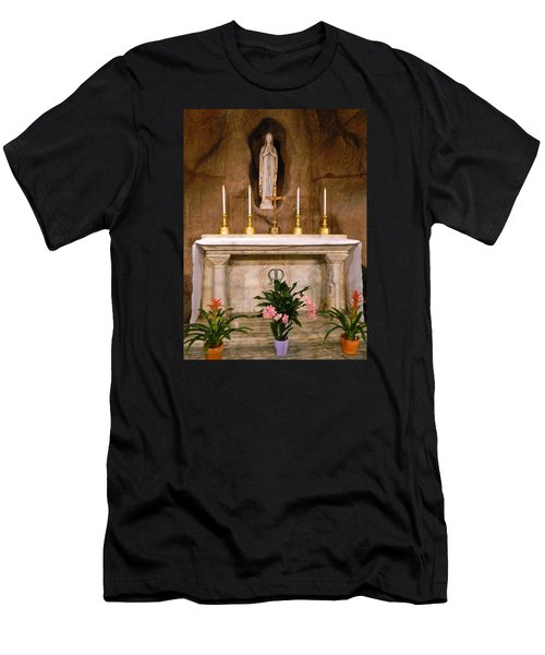 I Am The Immaculate Conception - Tiny Chapel On Crypt Level Men's T-Shirt (Athletic Fit)