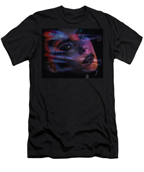 I Breathe Art Therefore I Am Art Men's T-Shirt (Athletic Fit)