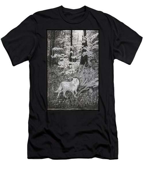 I Can't Find The Rabbit Men's T-Shirt (Athletic Fit)