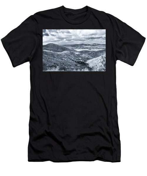 Men's T-Shirt (Athletic Fit) featuring the photograph I Found My Thrill by Alison Frank