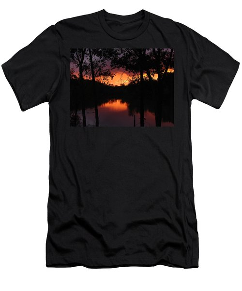 Men's T-Shirt (Slim Fit) featuring the photograph I Found Red October by J R Seymour