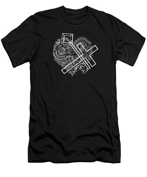 I Give You The Key Of My Heart Men's T-Shirt (Athletic Fit)