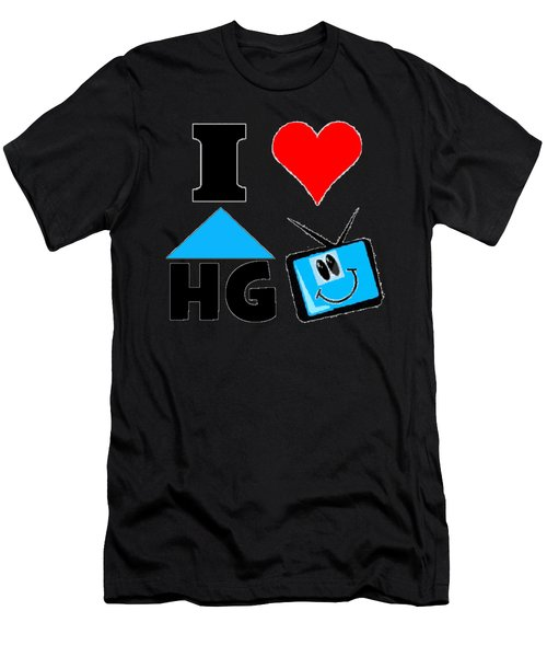 I Love Hgtv T-shirt Men's T-Shirt (Athletic Fit)