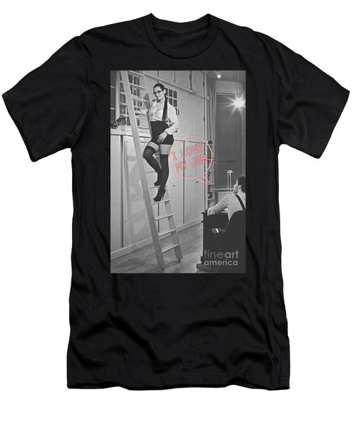 I Love My Job #2 Men's T-Shirt (Athletic Fit)