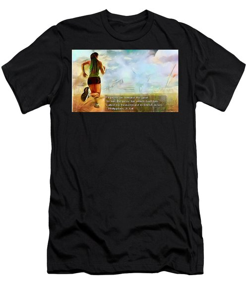 I Press - Female And Text Men's T-Shirt (Athletic Fit)