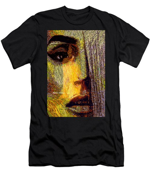 Men's T-Shirt (Athletic Fit) featuring the digital art I See Everything  by Rafael Salazar