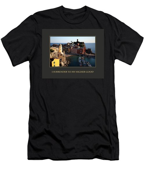 Men's T-Shirt (Slim Fit) featuring the photograph I Surrender To My Higher Good by Donna Corless