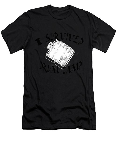 I Survived Drum Camp Men's T-Shirt (Athletic Fit)