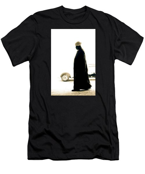 Men's T-Shirt (Slim Fit) featuring the photograph I Try To Be Positive  by Jez C Self
