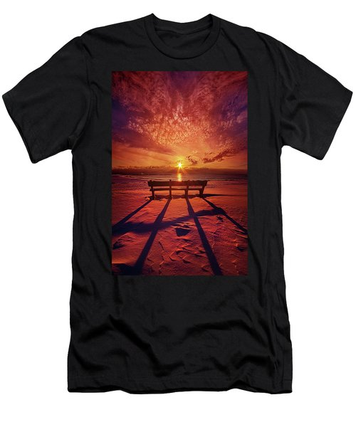 Men's T-Shirt (Slim Fit) featuring the photograph I Will Always Be With You by Phil Koch