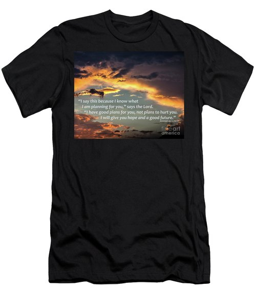 I Will Give You Hope Men's T-Shirt (Athletic Fit)