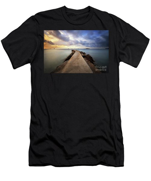 Ibiza Summer Mix 6.0 Men's T-Shirt (Slim Fit) by Yhun Suarez