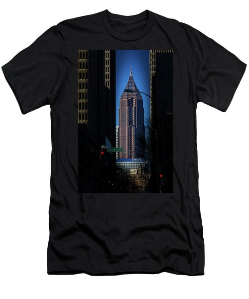 Ibm Tower Men's T-Shirt (Athletic Fit)