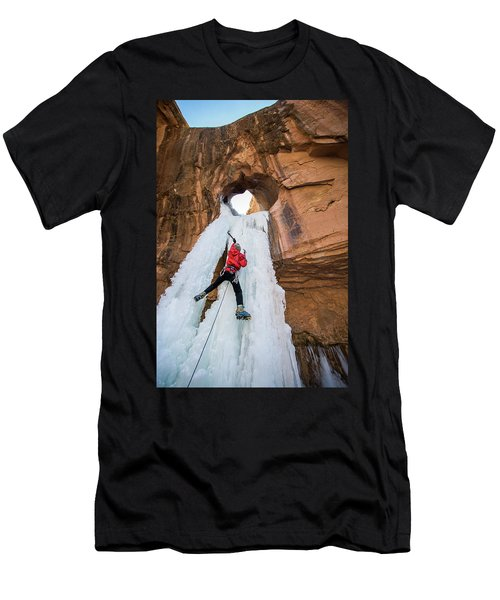 Ice Climber Men's T-Shirt (Athletic Fit)