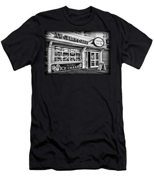 Ice Cream And Candy Shop At The Boardwalk - Jersey Shore Men's T-Shirt (Athletic Fit)