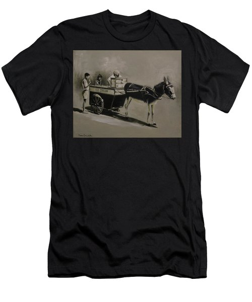 Ice Cream Man. Men's T-Shirt (Athletic Fit)
