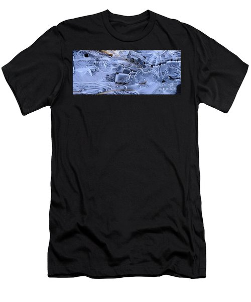 Ice Crystal Art Men's T-Shirt (Athletic Fit)