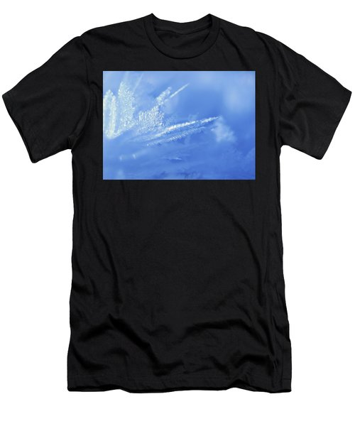 Ice Crystals Men's T-Shirt (Athletic Fit)