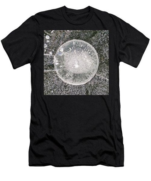 Ice Fishing Hole Xxvii Men's T-Shirt (Athletic Fit)