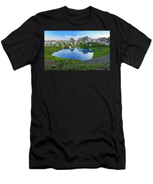Ice Lake Panorama Men's T-Shirt (Athletic Fit)