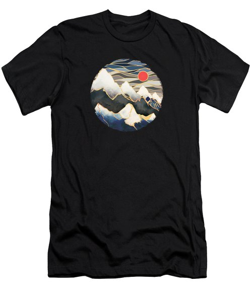 Ice Mountains Men's T-Shirt (Athletic Fit)
