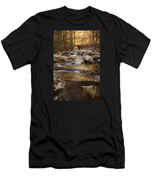 Ice On Stickney Brook Men's T-Shirt (Athletic Fit)