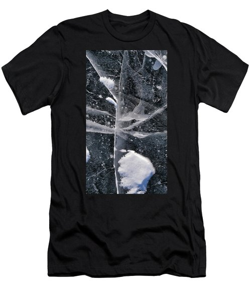 Ice Patterns Xiii Men's T-Shirt (Athletic Fit)