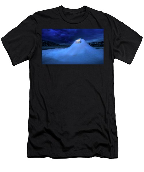 Ice Volcano Men's T-Shirt (Athletic Fit)