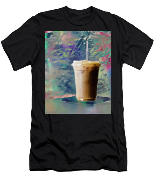 Iced Coffee 3 Men's T-Shirt (Athletic Fit)
