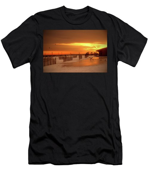 Iced Sunset Men's T-Shirt (Athletic Fit)