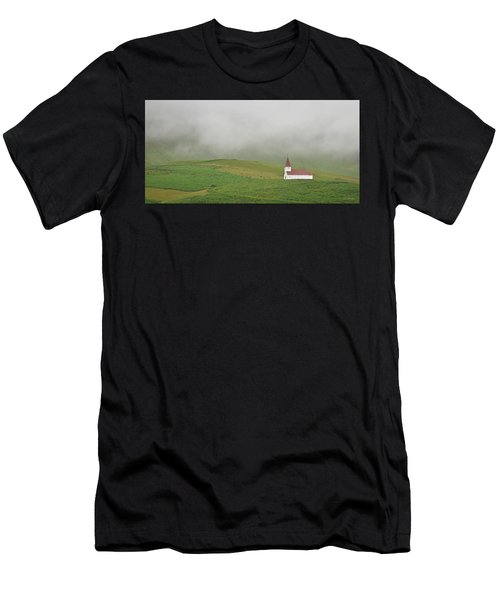 Icelandic Chapel Men's T-Shirt (Athletic Fit)
