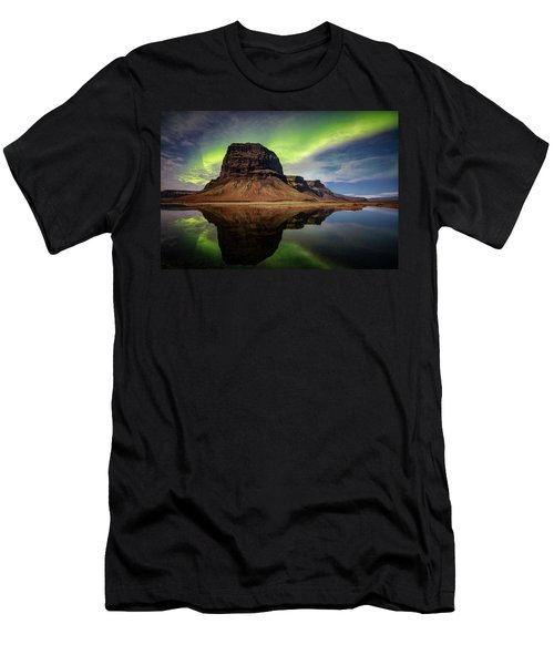 Icelanding Aurora Men's T-Shirt (Athletic Fit)