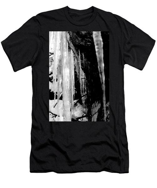 Icicles  Men's T-Shirt (Athletic Fit)