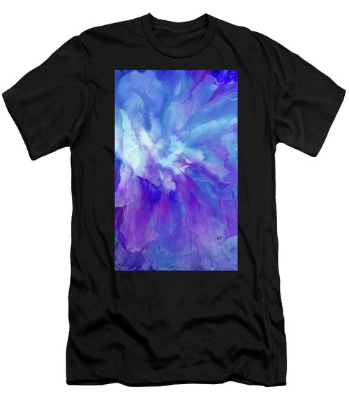 Icy Bloom Men's T-Shirt (Athletic Fit)