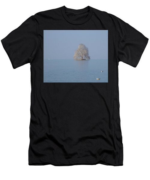 Icy Isolation Men's T-Shirt (Athletic Fit)