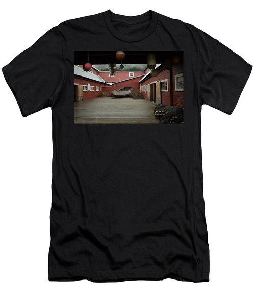 Icy Strait Point Cannery Museum Men's T-Shirt (Athletic Fit)