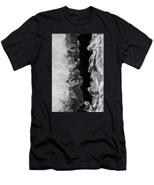 Icy Waves Men's T-Shirt (Slim Fit) by Konstantin Sevostyanov
