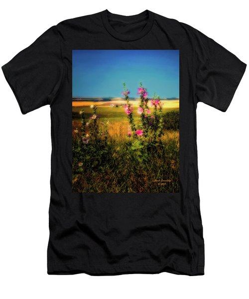 Idaho Farmhouse  ... Men's T-Shirt (Athletic Fit)