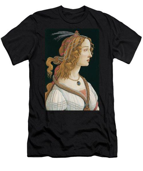 Idealized Portrait Of A Lady Men's T-Shirt (Athletic Fit)