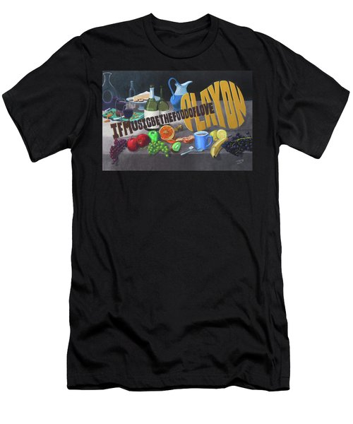 If Music Be The Food Of Love Play On Men's T-Shirt (Athletic Fit)