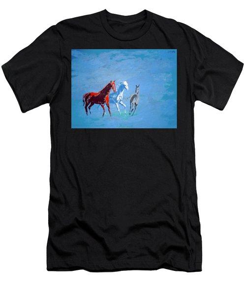 Il Futuro Ci Viene Incontro Men's T-Shirt (Athletic Fit)
