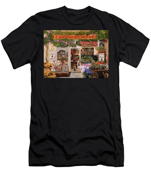 Il Giardino Dei Boccioli Men's T-Shirt (Athletic Fit)