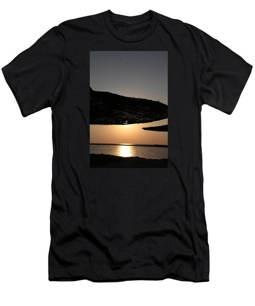 Men's T-Shirt (Slim Fit) featuring the photograph I'll Miss You by Jez C Self
